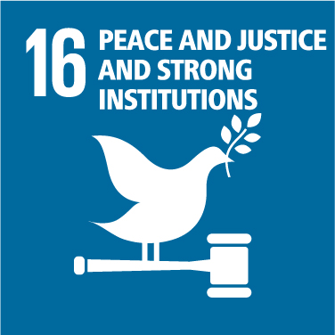 Peace and Justice and Strong Institutions